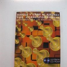 Coleccionismo deportivo: JUEGUE Y GANE AL AJEDREZ POR CORRESPONDENCIA. KON GRIVAINIS. CONTIENE CD ROM. ED. PAIDOTRIBO 2001. Lote 49449269