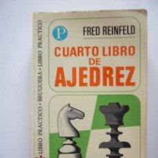 Coleccionismo deportivo: CUARTO LIBRO DE AJEDREZ. FRED REINFELD. BRUGERA. Nº 31. Lote 49753754