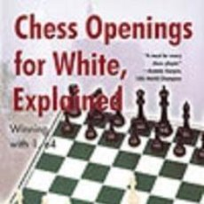 Coleccionismo deportivo: AJEDREZ. CHESS OPENINGS FOR WHITE, EXPLAINED - LEV ALBURT/ROMAN DZINDZICHASHVILI/EUGENE PERELSHTEY. Lote 49985755