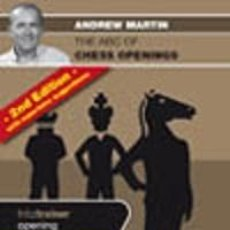 Coleccionismo deportivo: AJEDREZ. THE ABC OF CHESS OPENINGS - ANDREW MARTIN DVD. Lote 50188735