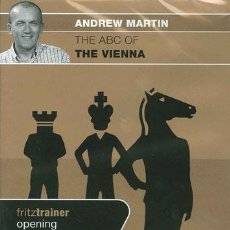 Coleccionismo deportivo: AJEDREZ. CHESS. THE ABC OF THE VIENNA - ANDREW MARTIN DVD. Lote 50217336