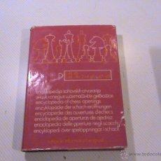 Coleccionismo deportivo: ENCICLOPEDIA DE APERTURAS DE AJEDREZ. LIBRO D. . Lote 50526547