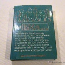 Coleccionismo deportivo: ENCICLOPEDIA DE APERTURAS DE AJEDREZ. LIBRO A. Lote 50526569
