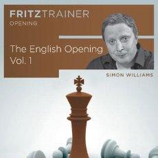 Coleccionismo deportivo: AJEDREZ. CHESS. THE ENGLISH OPENING VOL. 1 - SIMON WILLIAMS DVD-ROM. Lote 50580138