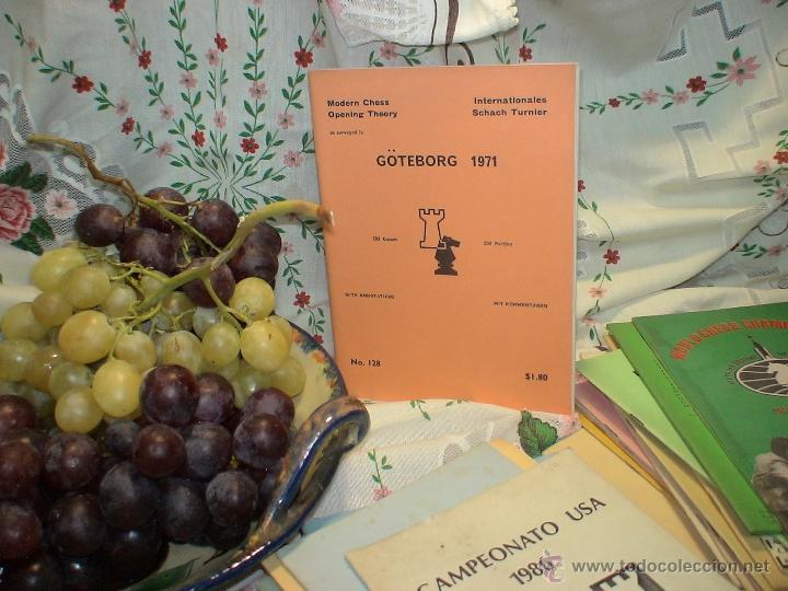 AJEDREZ. CHESS. GÖTEBORG 1971 DESCATALOGADO!!! (Coleccionismo Deportivo - Libros de Ajedrez)