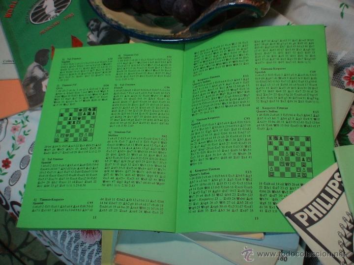 Coleccionismo deportivo: Ajedrez. Chess. Wijk aan Zee 1986 DESCATALOGADO!!! - Foto 3 - 50648312