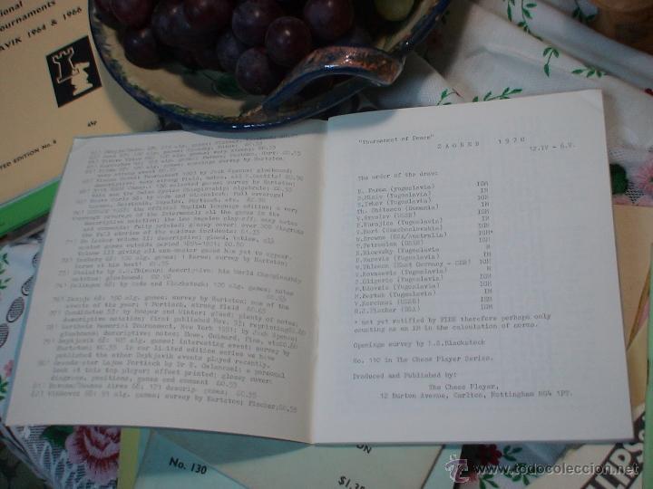 Coleccionismo deportivo: Ajedrez. Chess. Zagreb 1970 DESCATALOGADO!!! - Foto 2 - 50649468