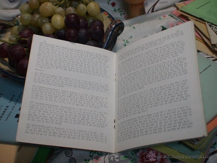 Coleccionismo deportivo: Ajedrez. Chess. Wijk aan Zee 1971 DESCATALOGADO !!! - Foto 2 - 150228813