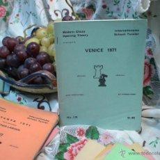 Coleccionismo deportivo: AJEDREZ. CHESS. VENICE 1971 DESCATALOGADO!!!. Lote 50651725