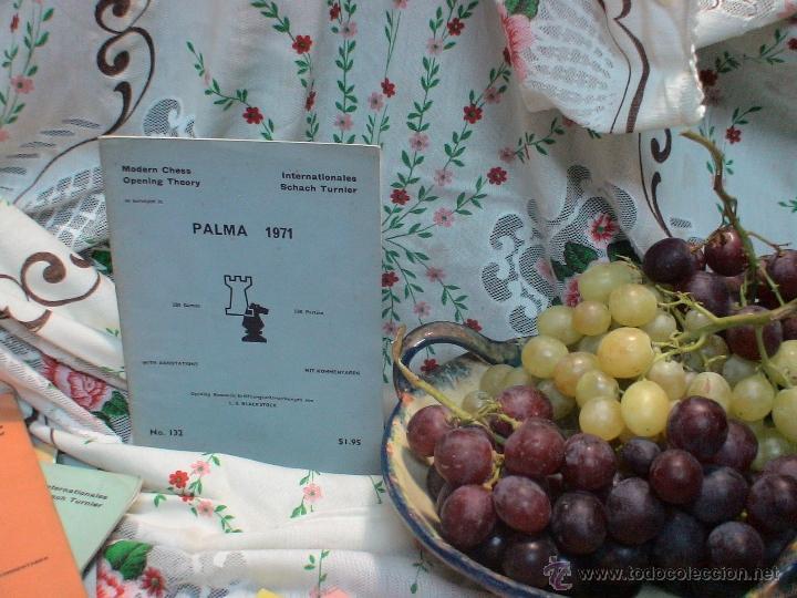 AJEDREZ. CHESS. PALMA 1971 DESCATALOGADO!!! (Coleccionismo Deportivo - Libros de Ajedrez)