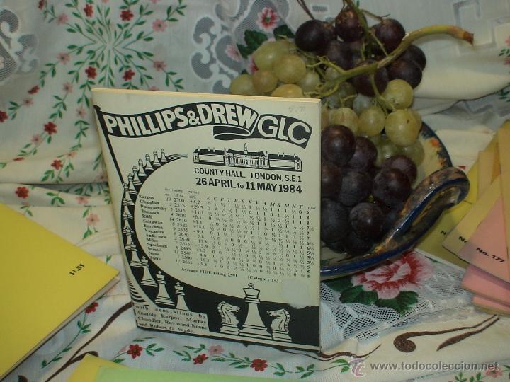 AJEDREZ. CHESS. PHILLIPS&DREW GLG. COUNTY HALL, LONDON 1984 DESCATALOGADO!!! (Coleccionismo Deportivo - Libros de Ajedrez)