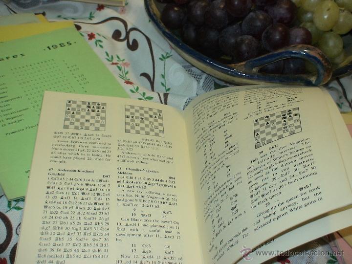 Coleccionismo deportivo: Ajedrez. Chess. Phillips&Drew GLG. County Hall, London 1984 DESCATALOGADO!!! - Foto 3 - 50731043