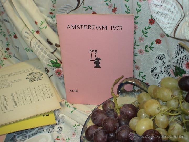 AJEDREZ. CHESS. AMSTERDAM 1973 DESCATALOGADO!!! (Coleccionismo Deportivo - Libros de Ajedrez)