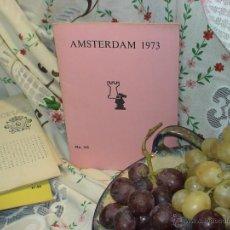 Coleccionismo deportivo: AJEDREZ. CHESS. AMSTERDAM 1973 DESCATALOGADO!!!. Lote 50777497