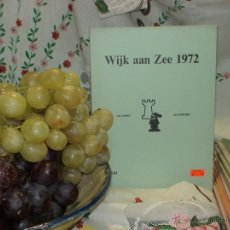 Coleccionismo deportivo: AJEDREZ. CHESS. WIJK AAN ZEE 1972 DESCATALOGADO!!!. Lote 50782628
