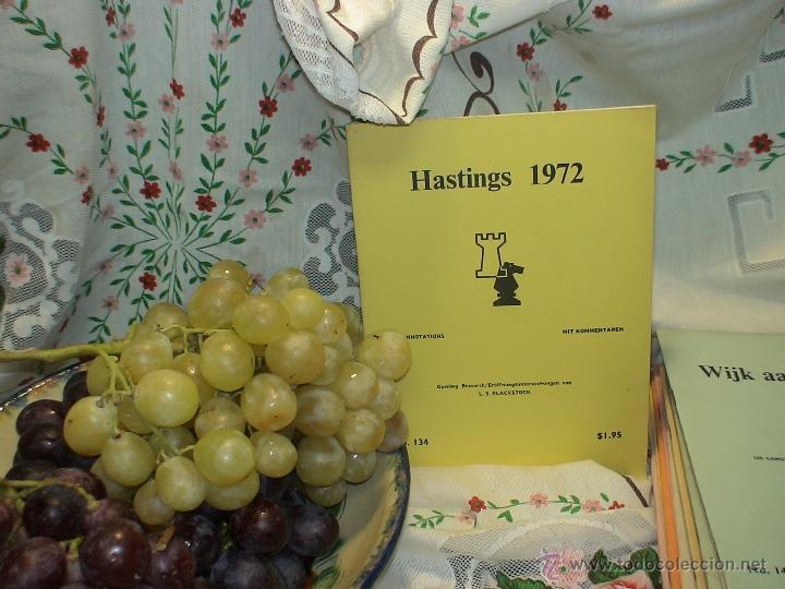 AJEDREZ. CHESS. HASTINGS 1971-72 DESCATALOGADO!!! (Coleccionismo Deportivo - Libros de Ajedrez)