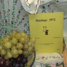 Coleccionismo deportivo: AJEDREZ. CHESS. HASTINGS 1971-72 DESCATALOGADO!!!. Lote 50785839