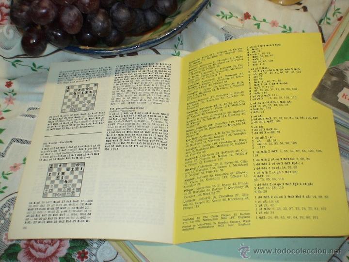 Coleccionismo deportivo: Ajedrez. Chess. Hastings 1971-72 DESCATALOGADO!!! - Foto 2 - 50785839