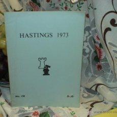 Coleccionismo deportivo: AJEDREZ. CHESS. HASTINGS 1972-73 DESCATALOGADO!!!. Lote 50796361