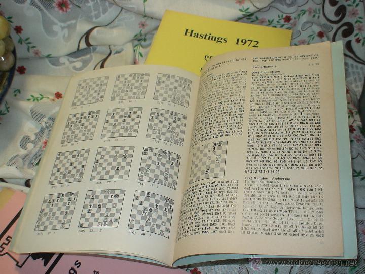 Coleccionismo deportivo: Ajedrez. Chess. Hastings 1972-73 DESCATALOGADO!!! - Foto 2 - 50796361