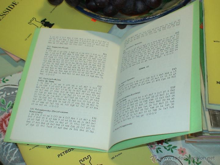 Coleccionismo deportivo: Ajedrez. Chess. Linares 1985 DESCATALOGADO!!! - Foto 2 - 50899434