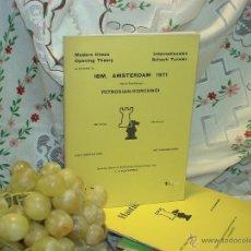 Coleccionismo deportivo: AJEDREZ. CHESS. IBM, AMSTERDAM 1971 DESCATALOGADO!!!. Lote 50904653