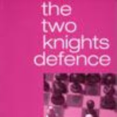 Coleccionismo deportivo: AJEDREZ. CHESS. THE TWO KNIGHTS DEFENCE - JAN PINSKI. Lote 51113374