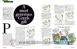 Coleccionismo deportivo: Ajedrez. Revista. Magazine New in Chess 2015/6 - Foto 3 - 51224122