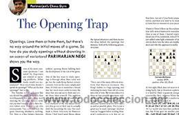 Coleccionismo deportivo: Ajedrez. Revista. Magazine New in Chess 2015/6 - Foto 8 - 51224122
