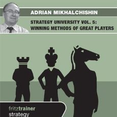 Coleccionismo deportivo: AJEDREZ. CHESS. STRATEGY UNIVERSITY VOL. 5 - ADRIAN MIKHALCHISHIN DVD. Lote 51541108