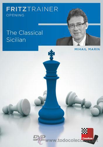 AJEDREZ. CHESS. THE CLASSICAL SICILIAN - MIHAIL MARIN DVD-ROM (Coleccionismo Deportivo - Libros de Ajedrez)