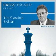 Coleccionismo deportivo: AJEDREZ. CHESS. THE CLASSICAL SICILIAN - MIHAIL MARIN DVD-ROM. Lote 51548871