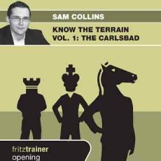 Coleccionismo deportivo: AJEDREZ. CHESS. KNOW THE TERRAIN. VOL. 1 THE CARLSBAD - SAM COLLINS DVD. Lote 51553452
