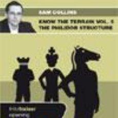 Coleccionismo deportivo: AJEDREZ. CHESS. KNOW THE TERRAIN. VOL. 5 THE PHILIDOR STRUCTURE - SAM COLLINS DVD. Lote 51579867