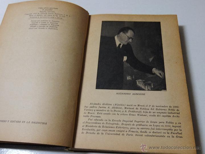 MIS MEJORES PARTIDAS DE AJEDREZ 1924.1937. UNICA EDICION AUTORIZADA. (Coleccionismo Deportivo - Libros de Ajedrez)