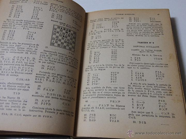 Coleccionismo deportivo: MIS MEJORES PARTIDAS DE AJEDREZ 1924.1937. UNICA EDICION AUTORIZADA. - Foto 3 - 51656210