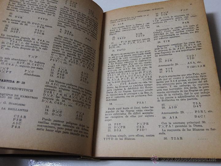 Coleccionismo deportivo: MIS MEJORES PARTIDAS DE AJEDREZ 1924.1937. UNICA EDICION AUTORIZADA. - Foto 4 - 51656210