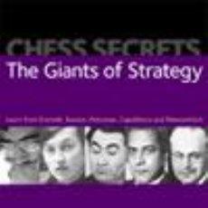 Coleccionismo deportivo: AJEDREZ. CHESS SECRETS: THE GIANTS OF STRATEGY - NEIL MCDONALD. Lote 51763214