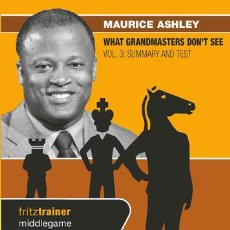 Coleccionismo deportivo: AJEDREZ. CHESS. WHAT GRANDMASTERS DON'T SEE VOL. 3 - MAURICE ASHLEY DVD. Lote 52006153