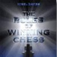 Coleccionismo deportivo: AJEDREZ. THE RULES OF WINNING CHESS - NIGEL DAVIES. Lote 52287352