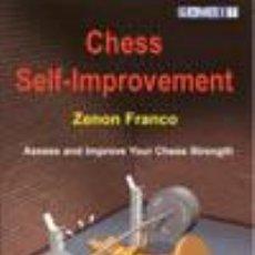 Coleccionismo deportivo: AJEDREZ. CHESS SELF-IMPROVEMENT - ZENON FRANCO. Lote 52491291
