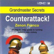 Coleccionismo deportivo: AJEDREZ. CHESS. GRANDMASTER SECRETS: COUNTERATTACK! - ZENON FRANCO. Lote 52641661