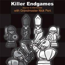 Coleccionismo deportivo: AJEDREZ. CHESS. KILLER ENDGAMES, PART 1 - NICK (NICHOLAS) PERT DVD. Lote 52782737