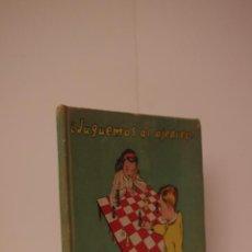 Coleccionismo deportivo: ¿JUGUEMOS AL AJEDREZ? INICIACIÓN AL JUEGO DEL AJEDREZ, LIBRO-JUGUETE EDUCATIVO DE ED. DURÁN. Lote 53070239