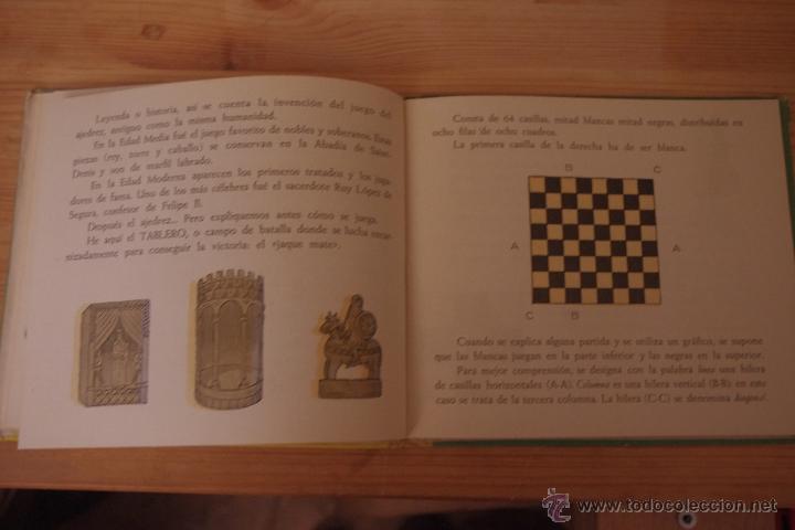 Coleccionismo deportivo: ¿JUGUEMOS AL AJEDREZ? INICIACIÓN AL JUEGO DEL AJEDREZ, libro-juguete educativo de ed. Durán - Foto 3 - 53070239