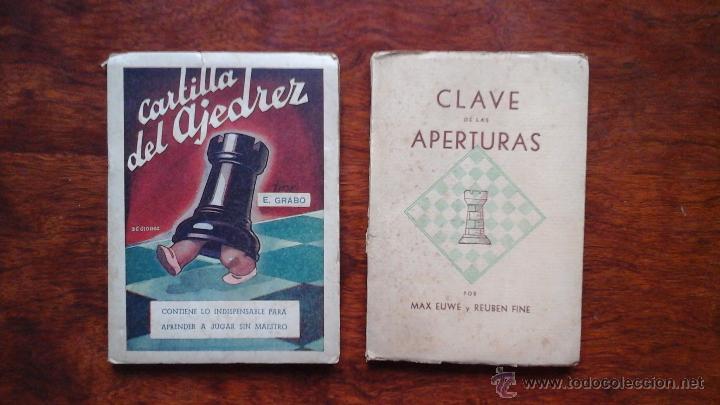 CARTILLA DEL AJERDREZ+ CLAVE DE LAS APERTURAS (Coleccionismo Deportivo - Libros de Ajedrez)