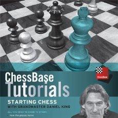 Coleccionismo deportivo: AJEDREZ. STARTING CHESS WITH GRANDMASTER DANIEL KING - DANIEL KING DVD. Lote 53261035