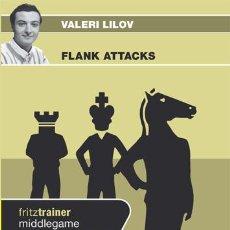 Coleccionismo deportivo: AJEDREZ. CHESS. FLANK ATTACKS - VALERI LILOV DVD. Lote 53394415