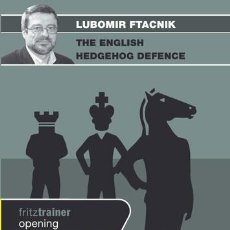 Coleccionismo deportivo: AJEDREZ. CHESS. THE ENGLISH HEDGEHOG DEFENCE - LUBOMIR FTACNIK DVD. Lote 53494258