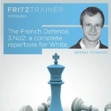 Coleccionismo deportivo: AJEDREZ. CHESS. THE FRENCH DEFENCE. 3.ND2: A COMPLETE REPERTOIRE FOR WHITE - SERGEY TIVIAKOV DVD-ROM. Lote 53499052